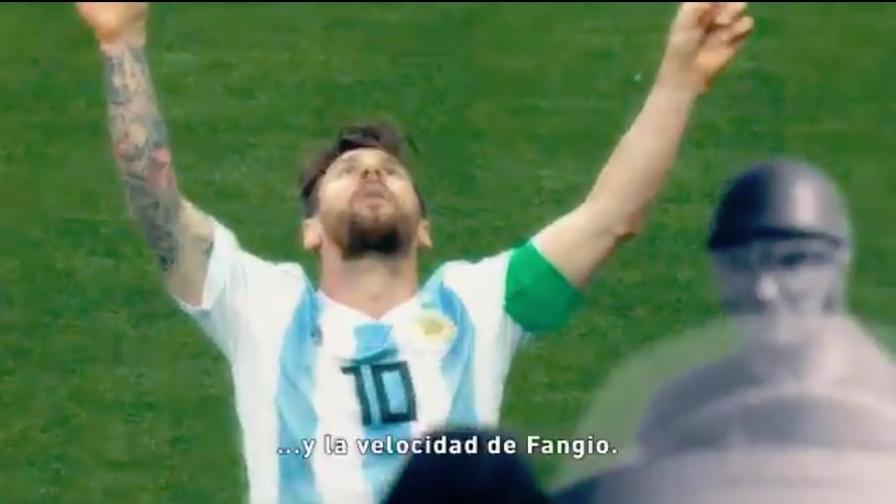 Video geniale dell'Argentina per il ritorno di Messi