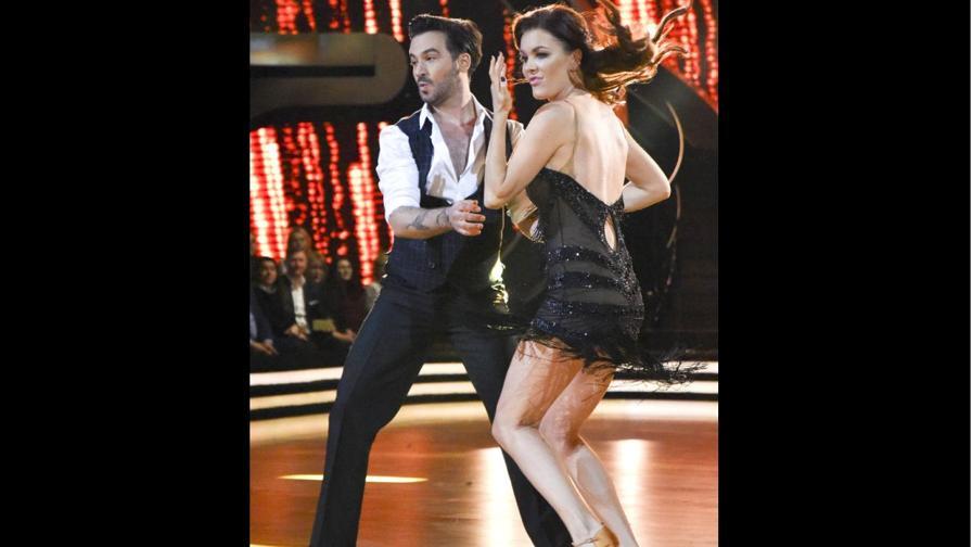 Radwanska super sexy al Ballando con le stelle polacco