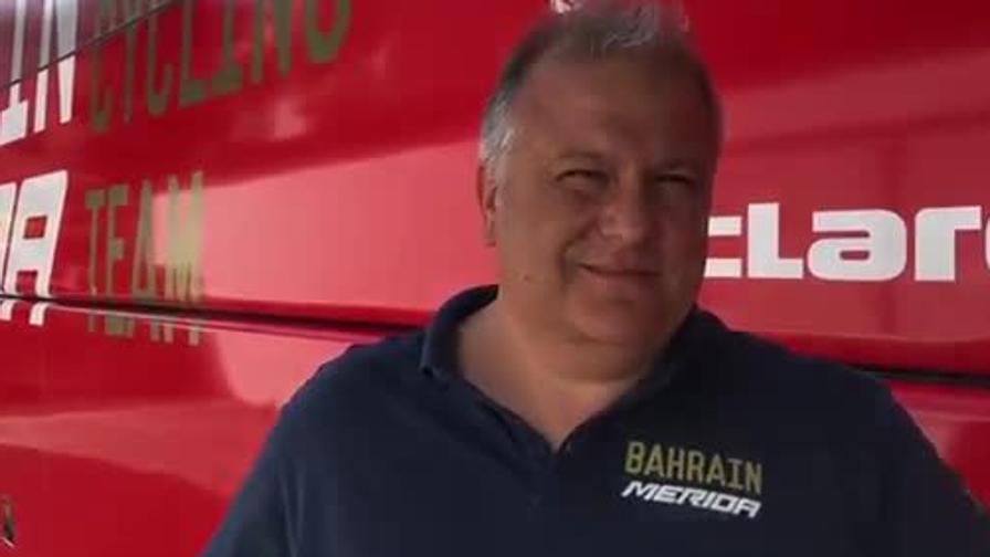 """L'allenatore di Nibali: """"Un test per Vincenzo"""""""