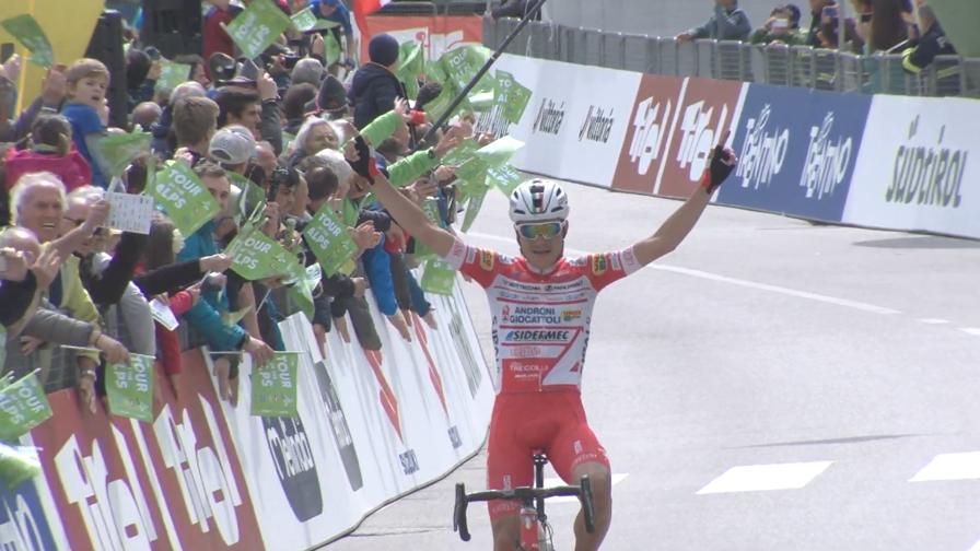 Tour of the Alps: la vittoria di Masnada
