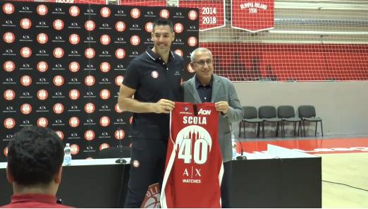 Basket, Scola a Milano: ha scelto la maglia numero 40