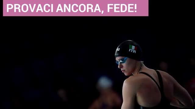 Federica Pellegrini, seconda e delusa: ma è la sua medaglia numero 52: il film della gara