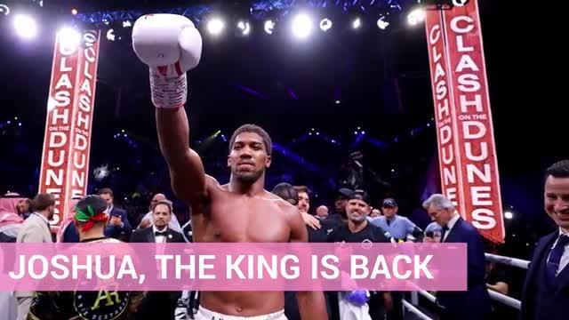 Sangue, tattica e muscoli: così Joshua è tornato campione