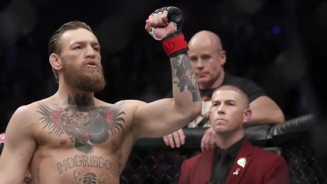 Ufc, McGregor stende Cerrone: le immagini