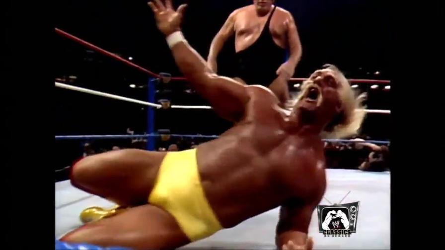 Video, Hulk Hogan solleva André the Giant