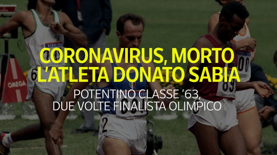 Donato Sabia, chi era l'atleta morto per il coronavirus