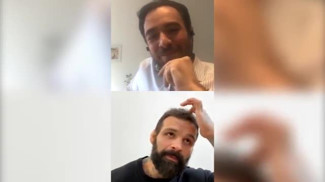 "Alessio Sakara racconta: ""Quella volta in gabbia senza paradenti?"""