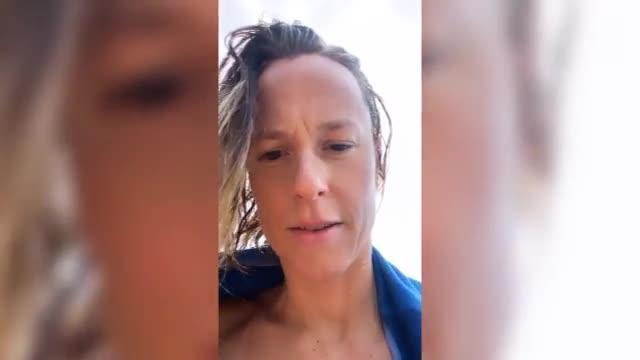 """Federica Pellegrini  stravolta dopo l'allenamento: """"Non riuscivo più a respirare"""""""