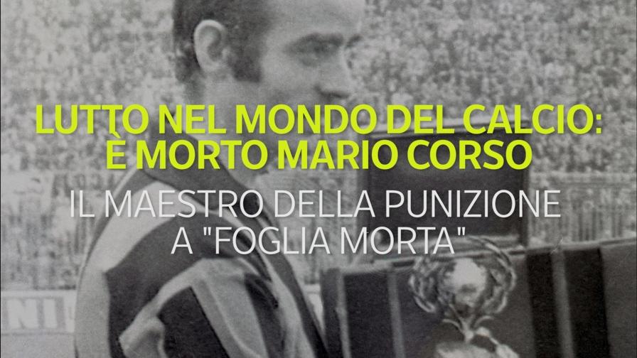 """Mario Corso, per tutti Mariolino, è morto questa mattina a Milano all'età di 78 anni. Fu uno dei protagonisti della Grande Inter di Helenio Herrera. Il maestro della punizione a """"foglia morta"""""""