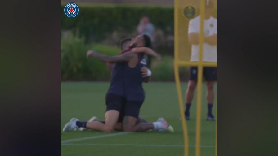 Neymar-Herrera come in un videogioco: gol pazzesco