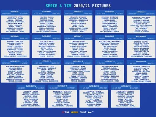 Serie A Il Calendario Dei Big Match Del Campionato La Gazzetta Dello Sport