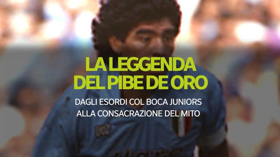 Dagli esordi con Boca Juniors alla consacrazione del mito: le tappe della carriera e della vita di Diego Armando Maradona