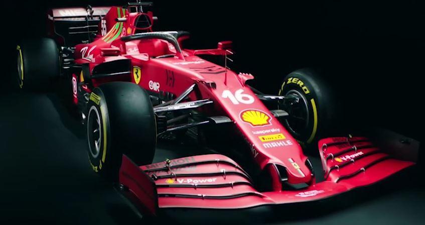 La nuova monoposto di Maranello per il Mondiale 2021: coda che da rossa diventa amaranto, posteriore strettissimo, fascino senza tempo. Guarda il video lancio dell'ultima Ferrari F1