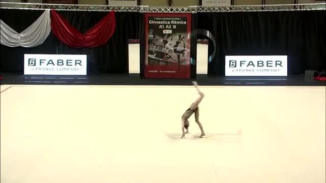 Verso la Coppa del Mondo di ginnastica ritmica: Sofia Raffaeli in azione